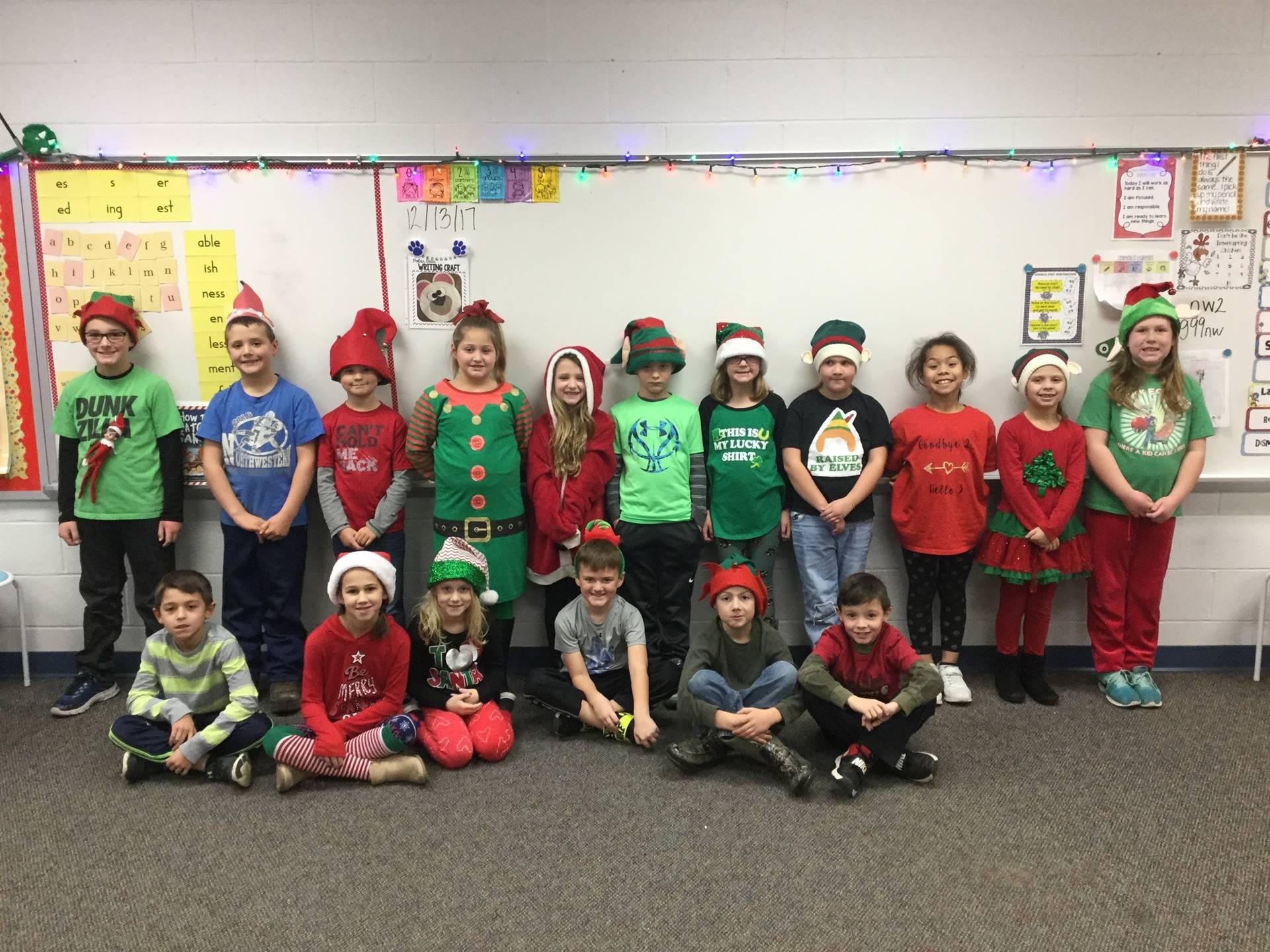 Miss Miller's 2nd grade class