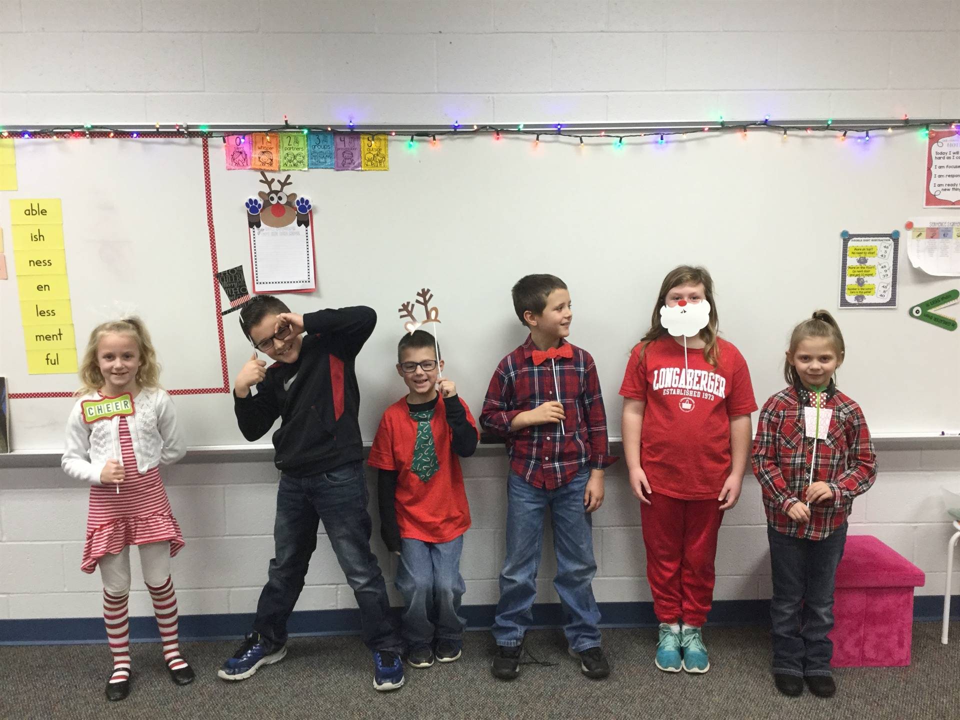 2nd grade Candy Cane Day