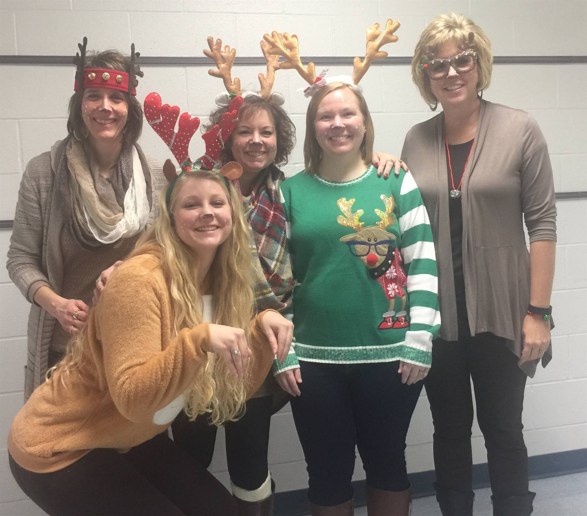 Reindeer spotted in 5th grade hall