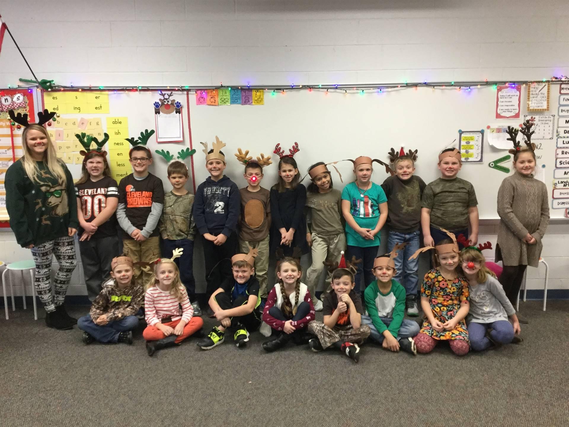 Miss Miller's Reindeer