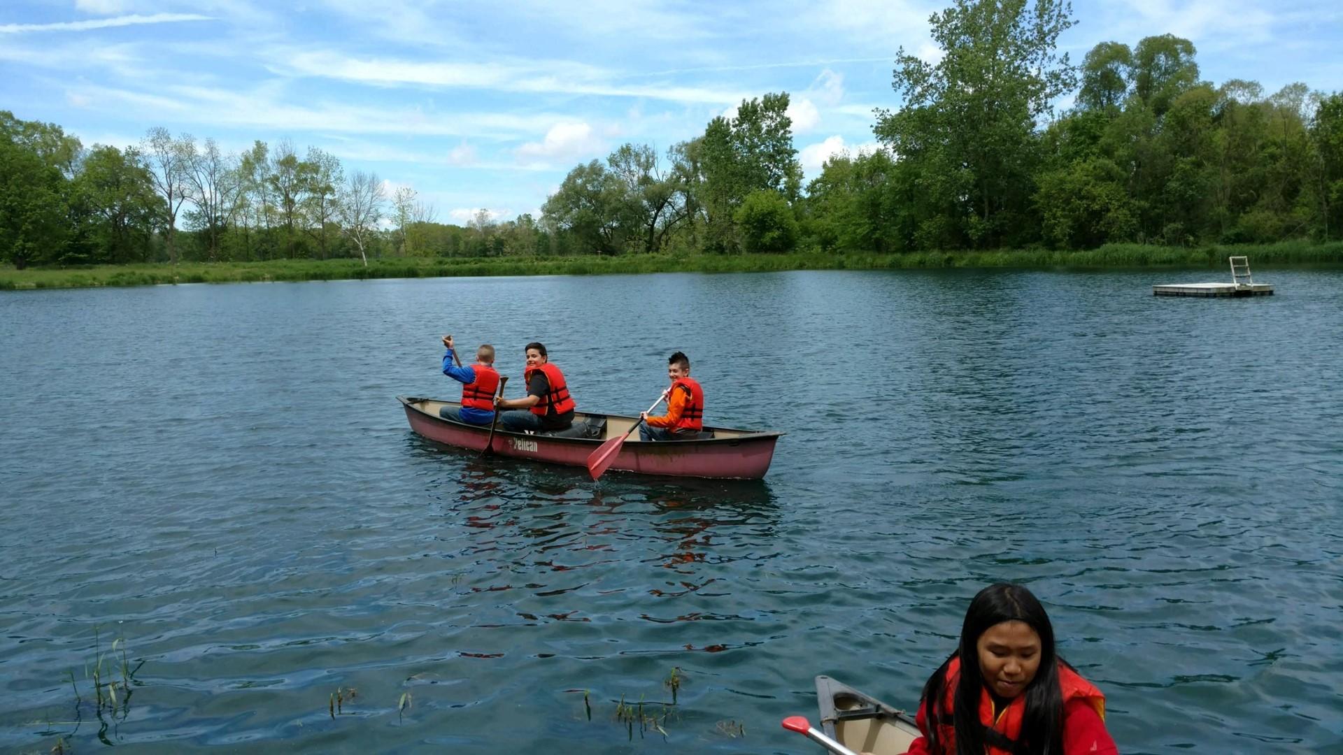 Beautiful day to canoe!