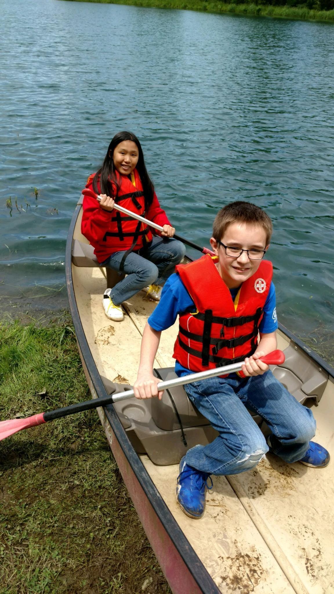 Ready to canoe-let's go!