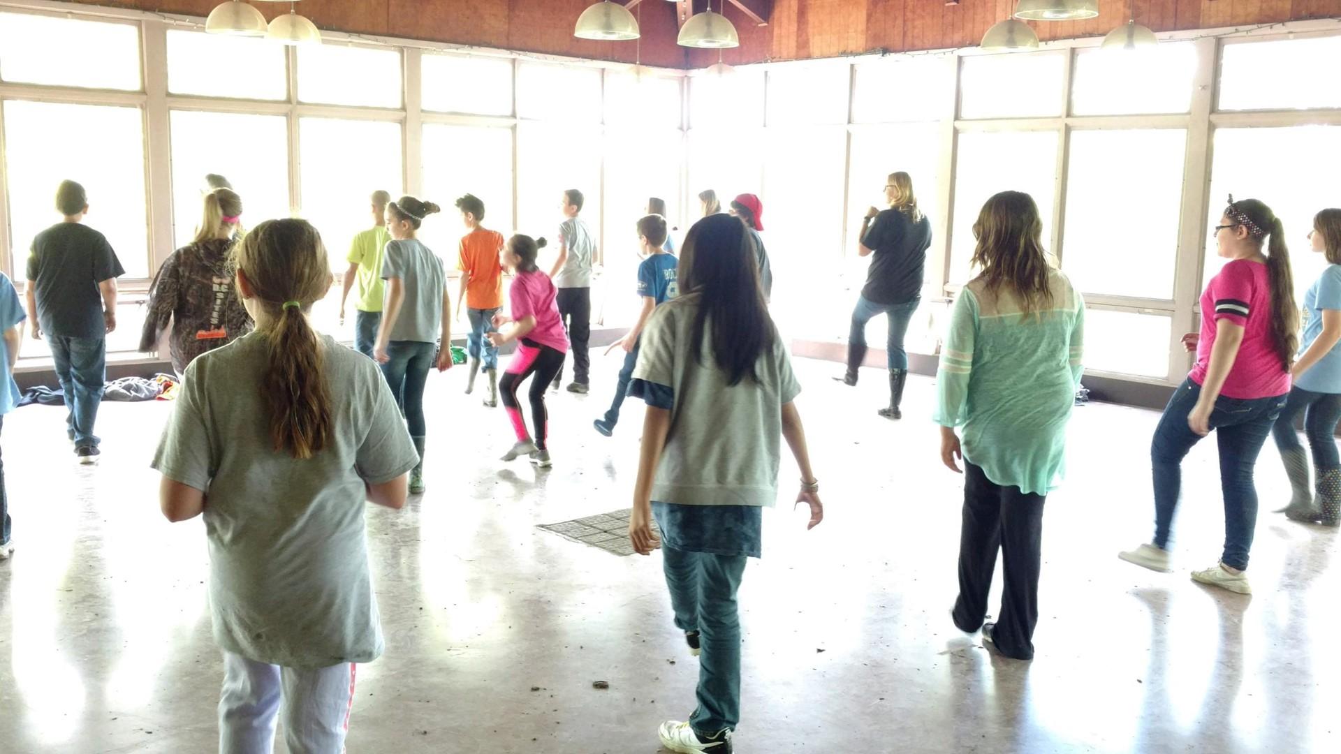 5th Grade team building - Yee Haw!