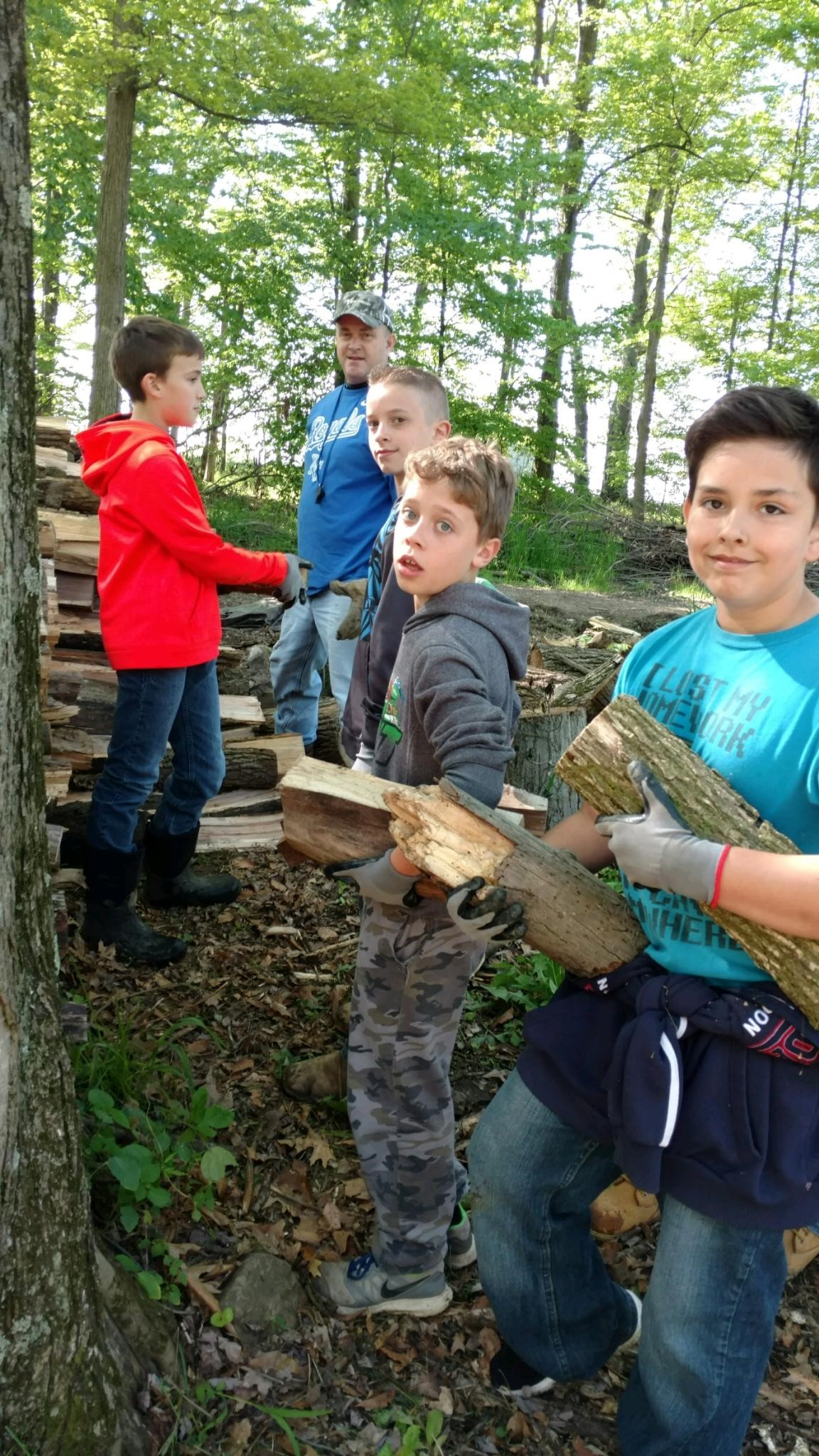 5th grade assembly line to move wood