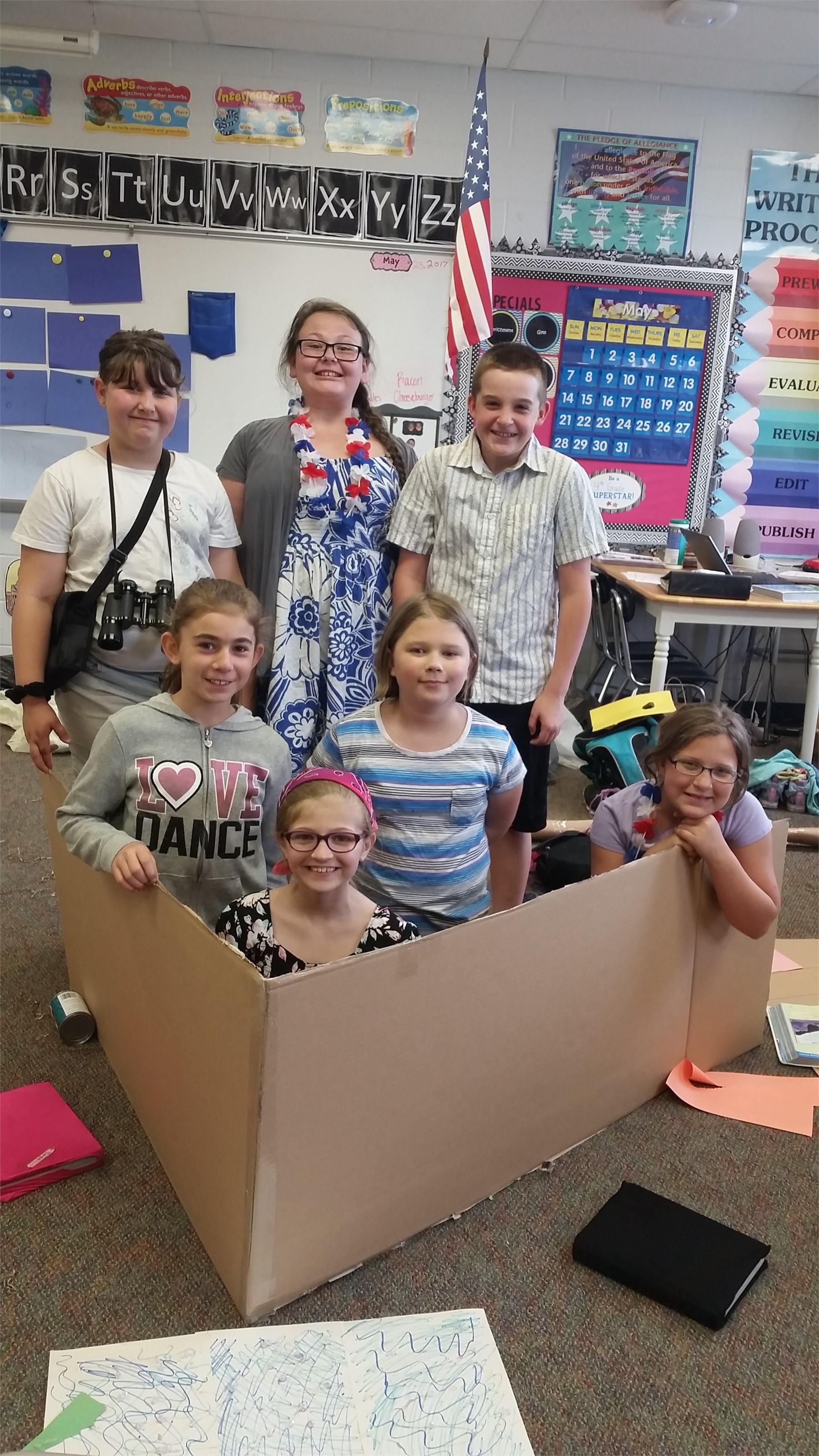 "Mrs. Wiles' 4th Grade Class Play ""The Adventurer"""