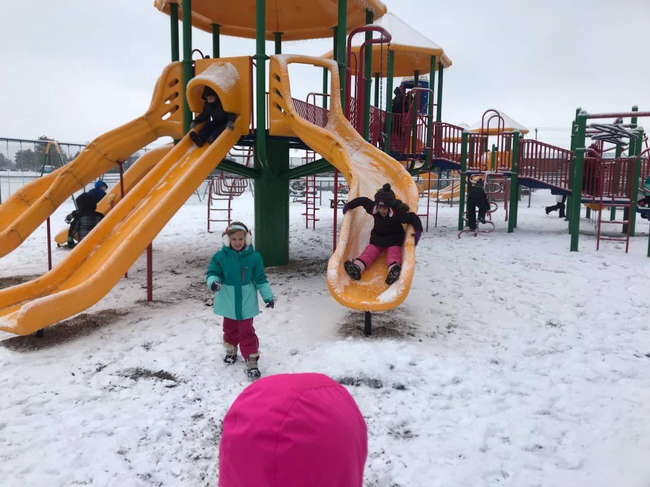 Snow makes it more fun!
