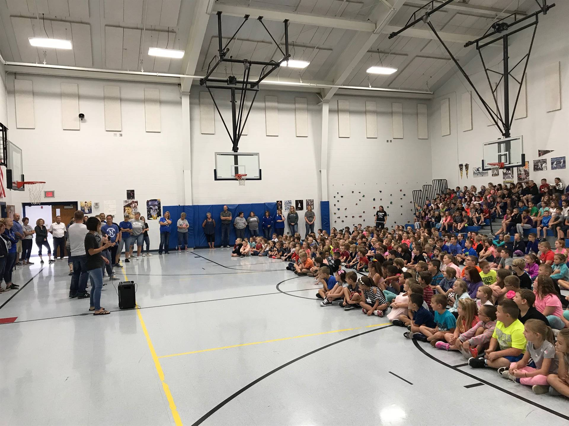 Welcome Back - Staff Introduction Assembly
