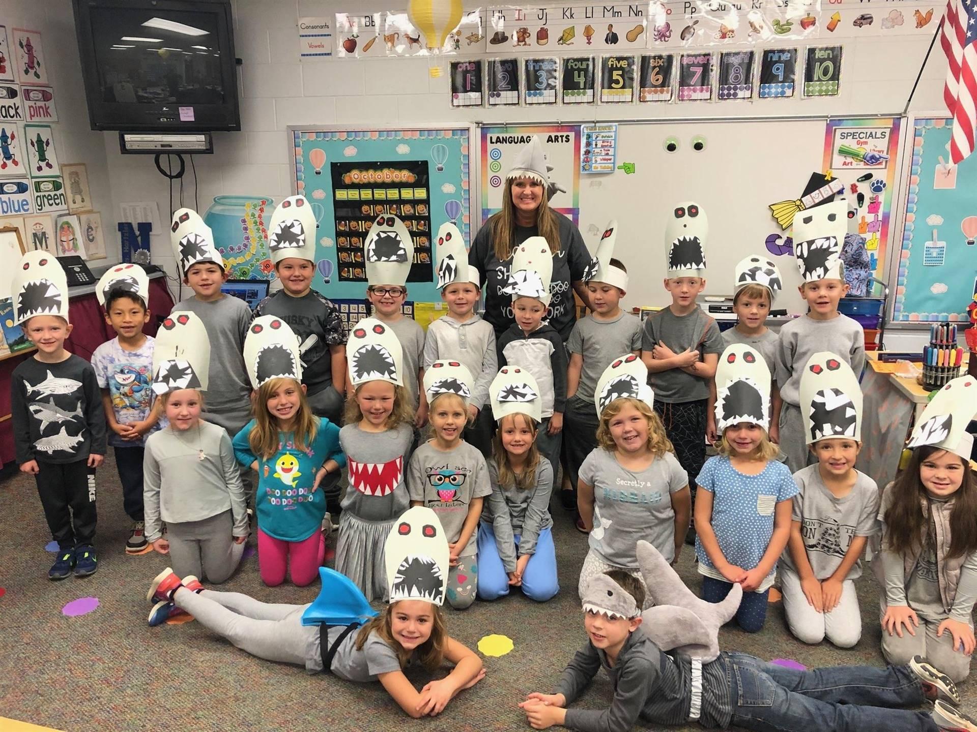 Kindergarten sharks!