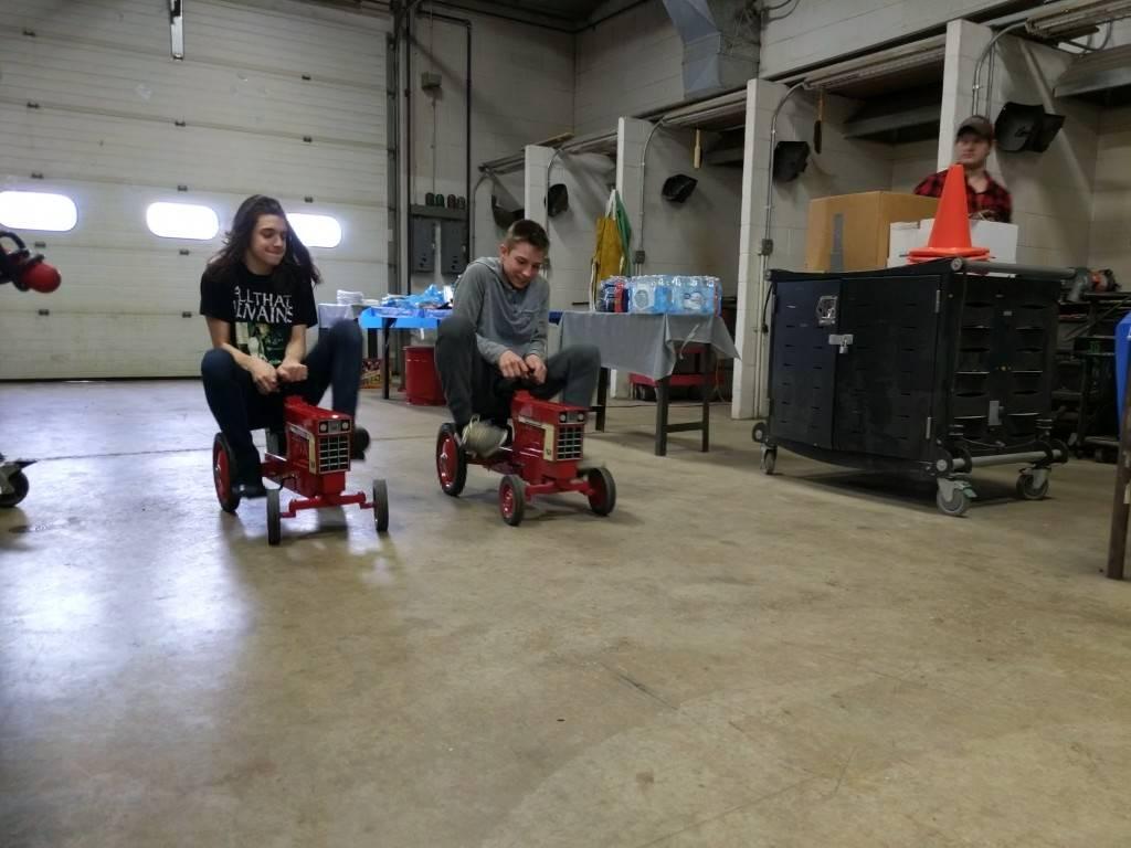 FFA Recruitment Day (Tractor Race)
