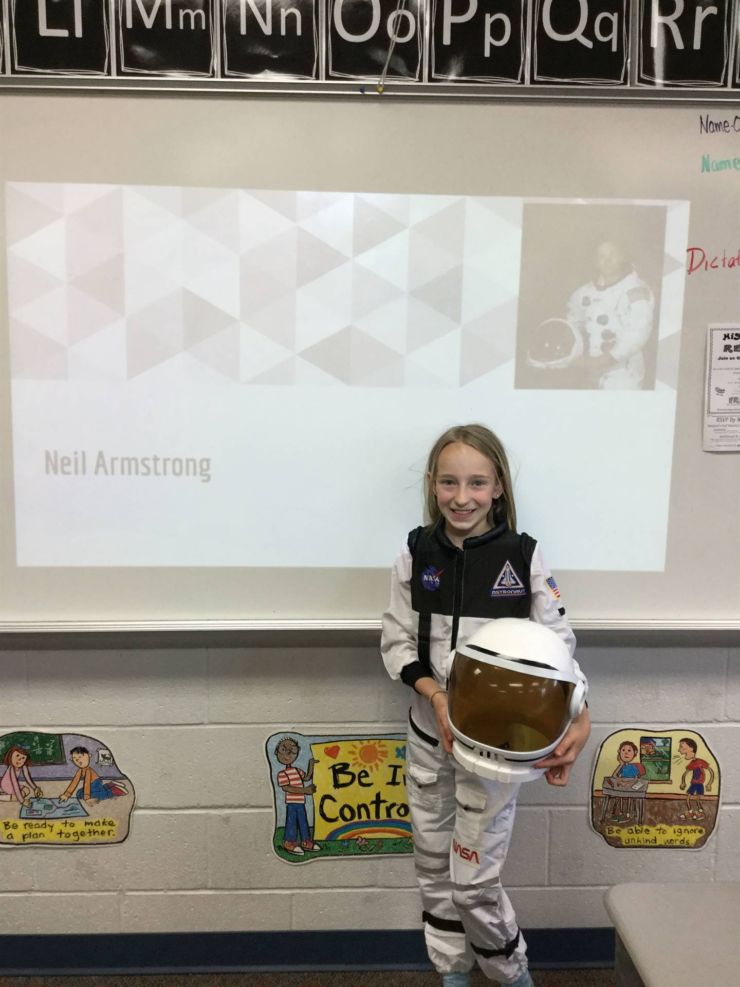 Thank you, Brookelyn, for all your info on Neil Armstrong!