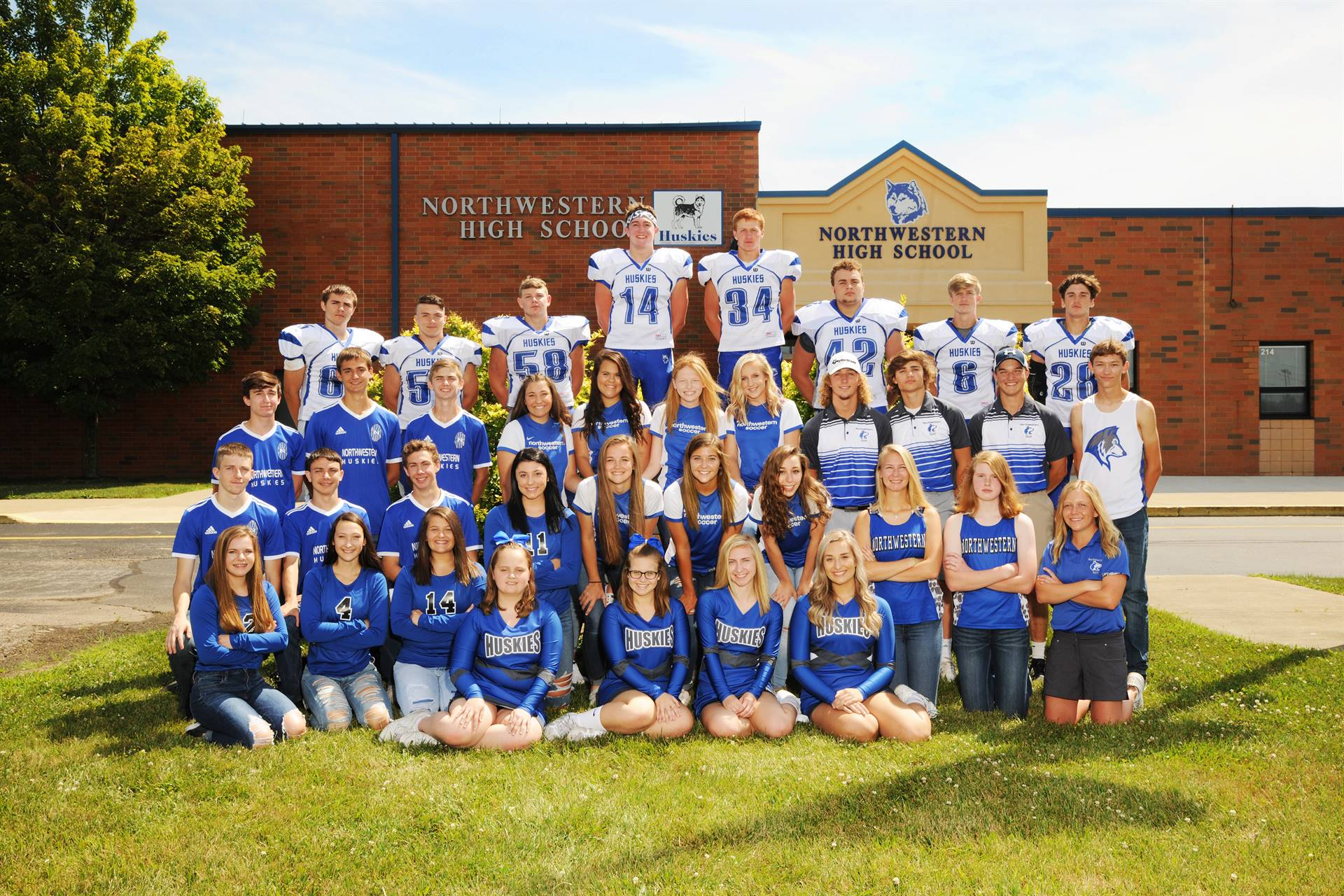 2019 Fall Senior Athletes