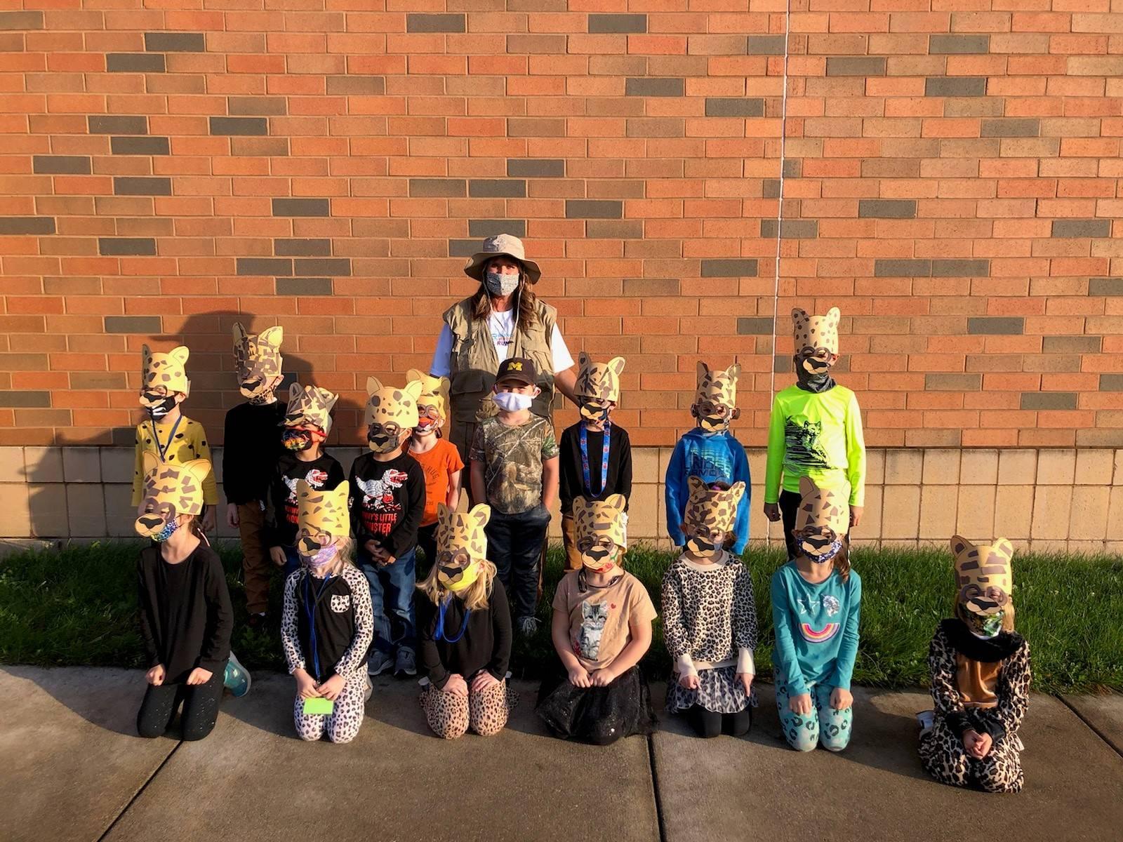 Mrs. Hartzler's kindergarten cheetahs