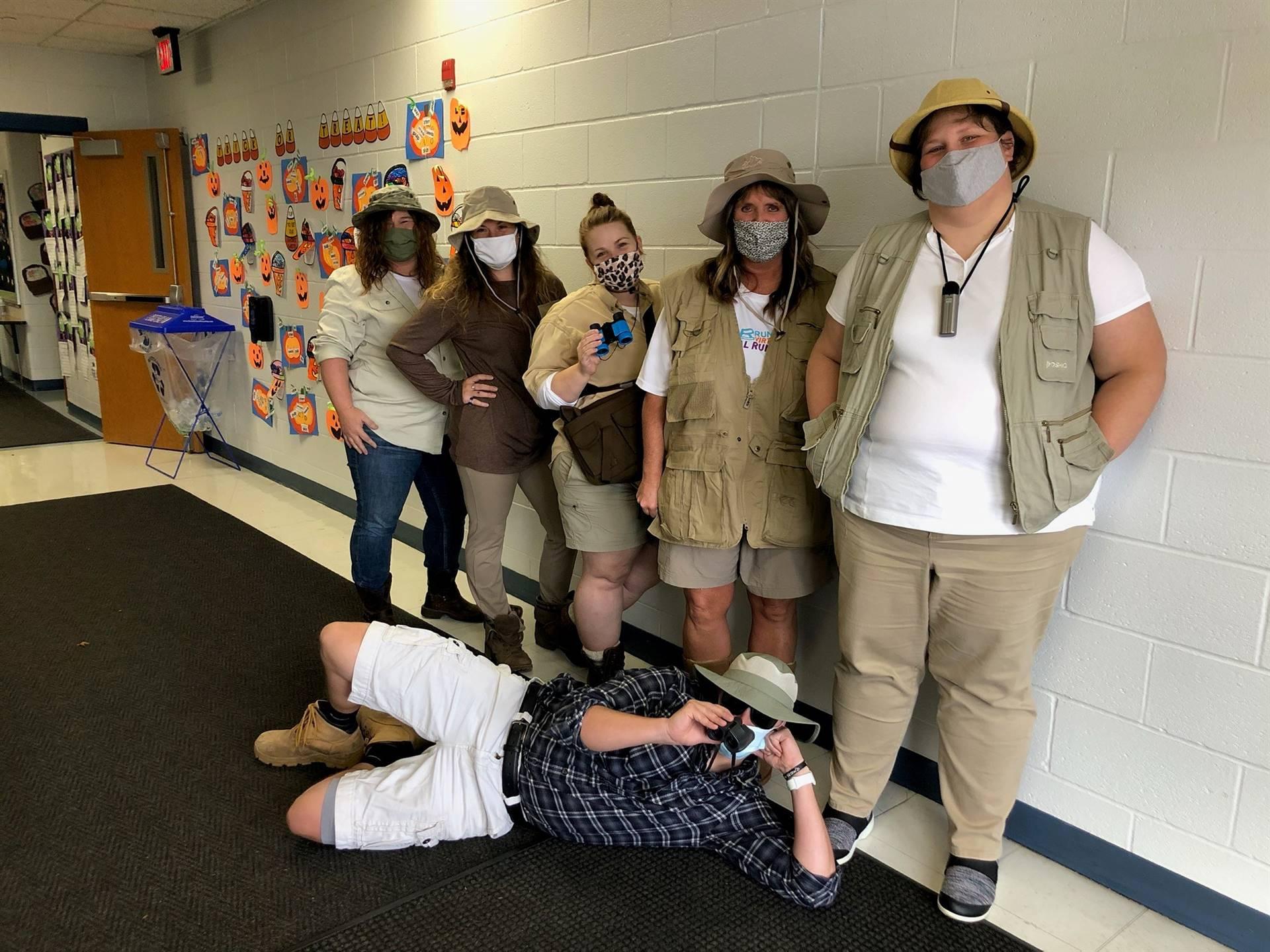 Kindergarten Staff on a Safari!