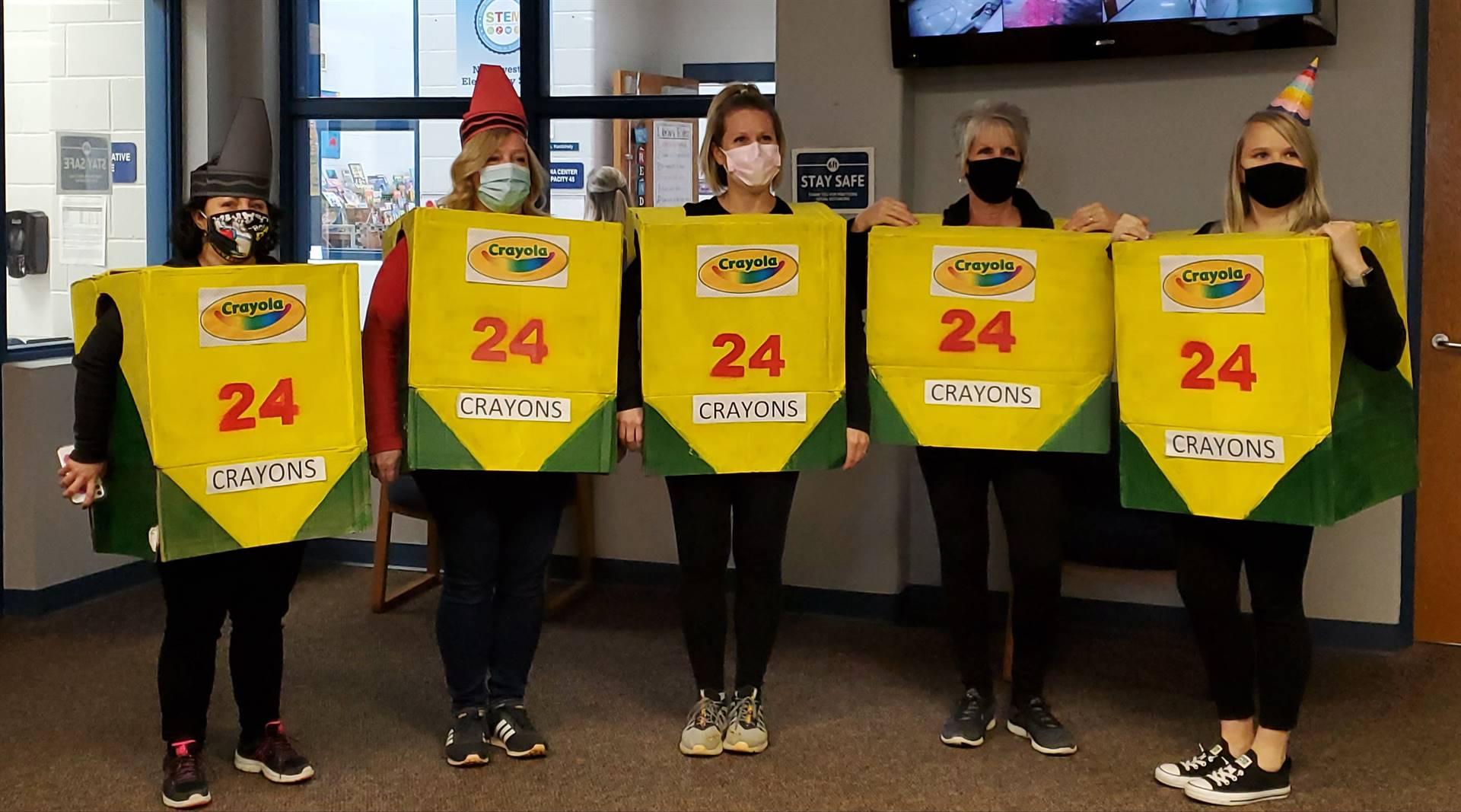 2nd Grade Crayon Crew!