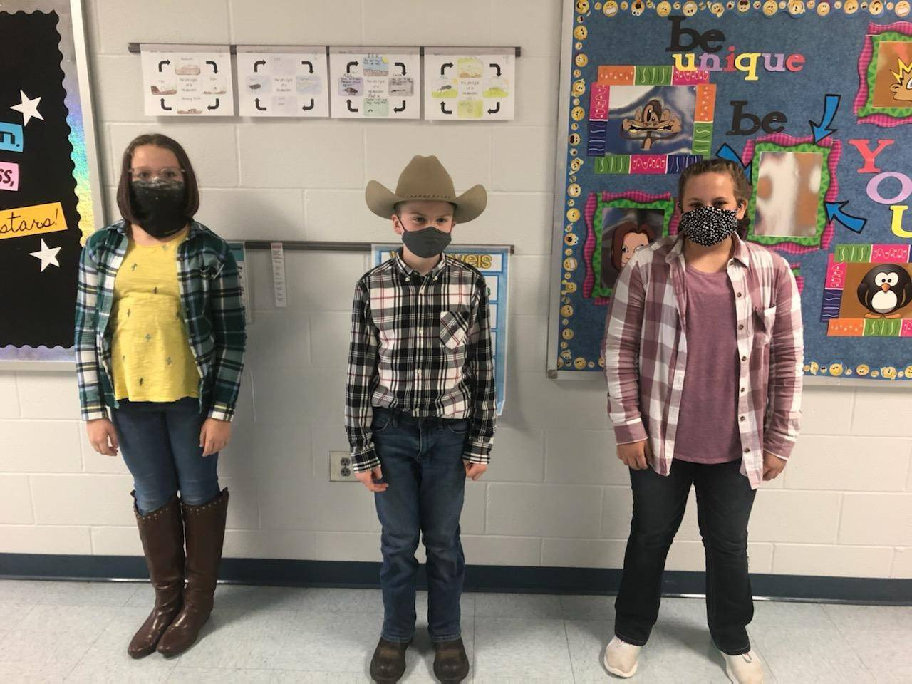 We are 5th grade cowboys/cowgirls!