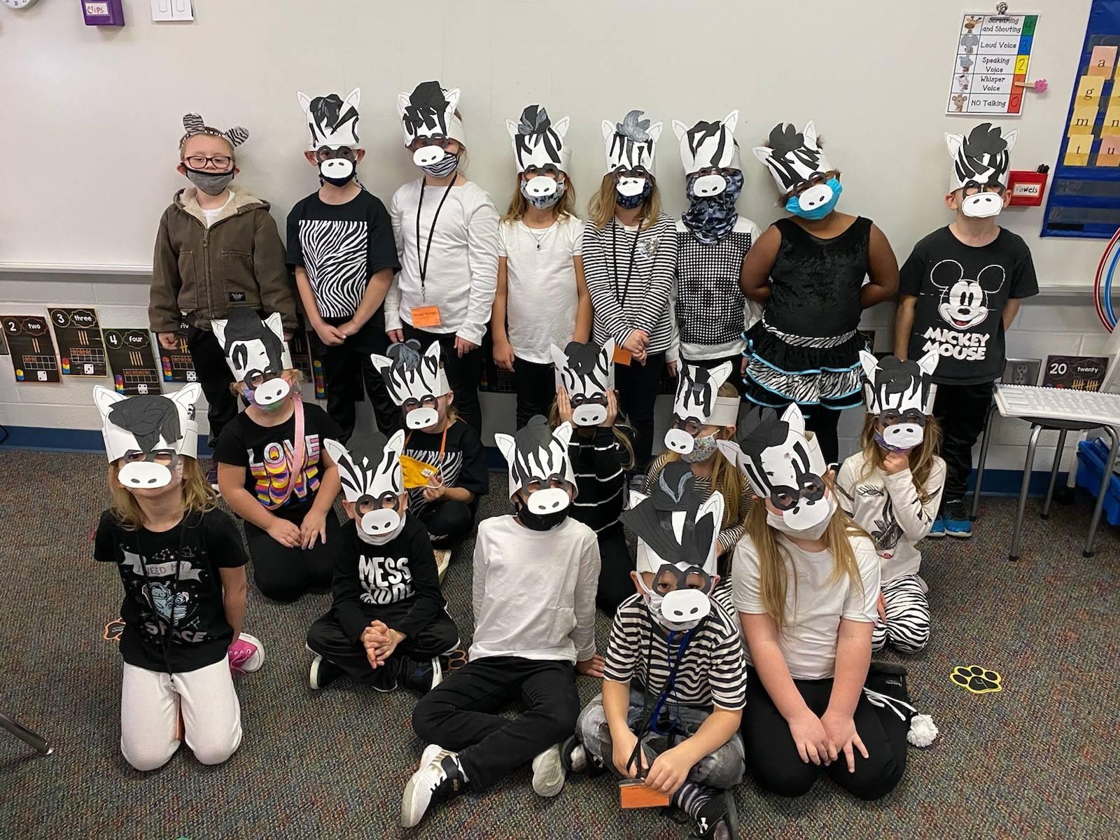 Mrs. Hershey's zebras!