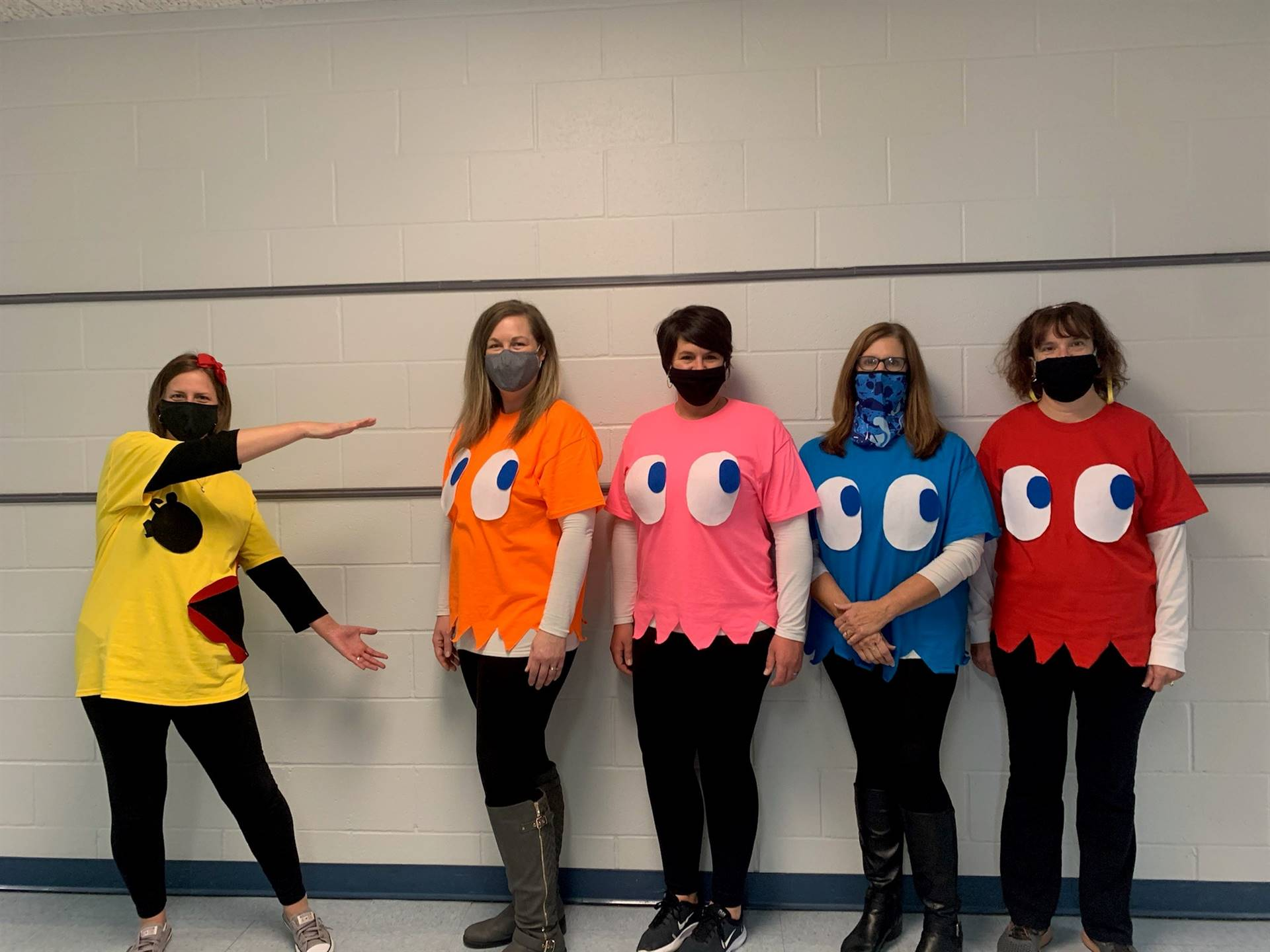 Title I Team-here comes Pac-Man!