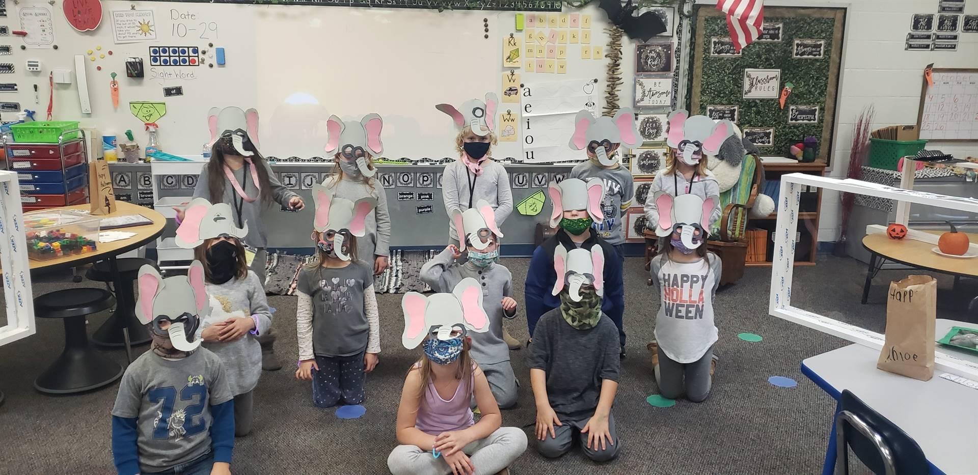 Mrs. Fish's elephants!