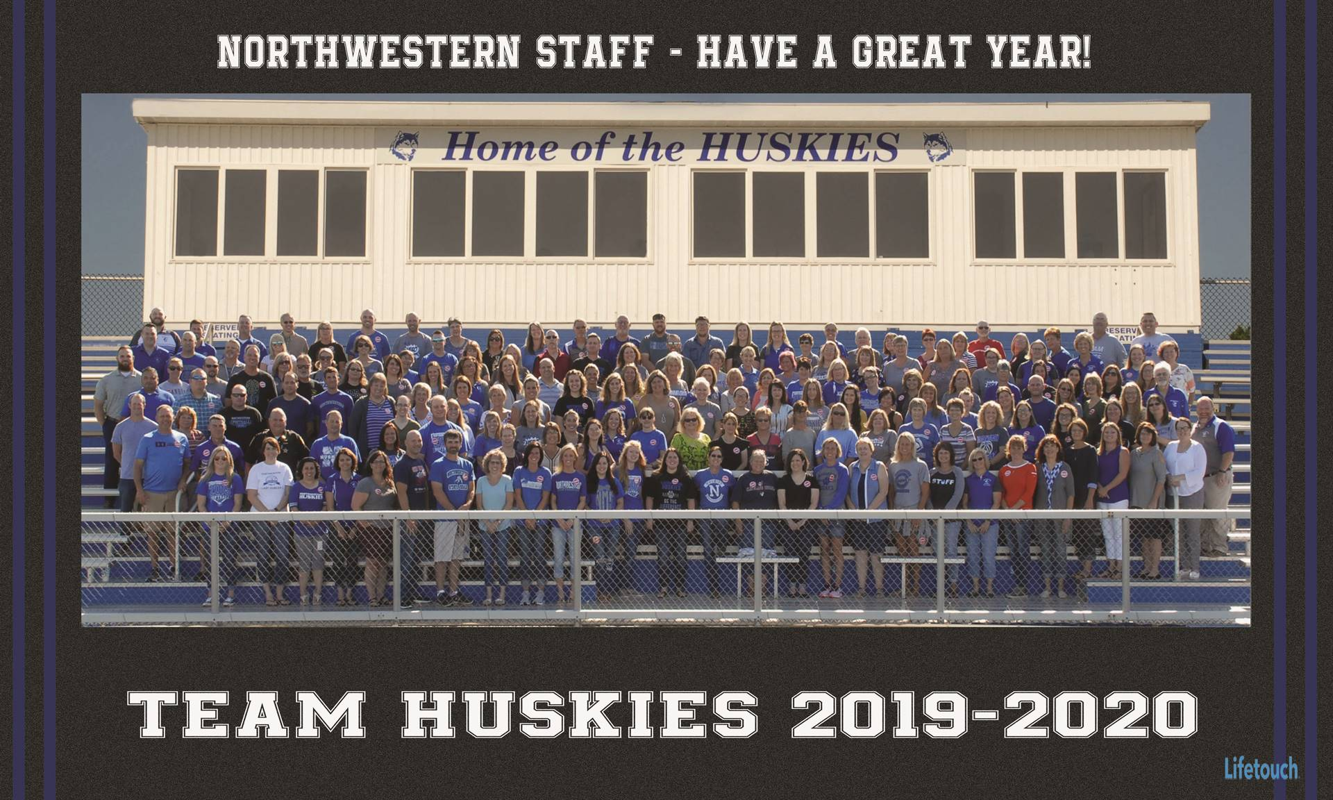 2019 Northwestern Staff Picture