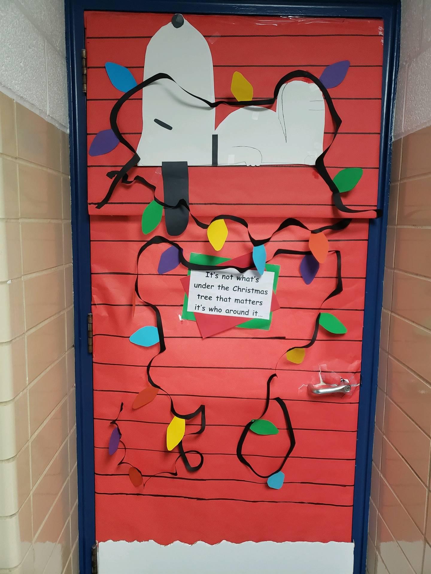 Mrs. Cutter's Door