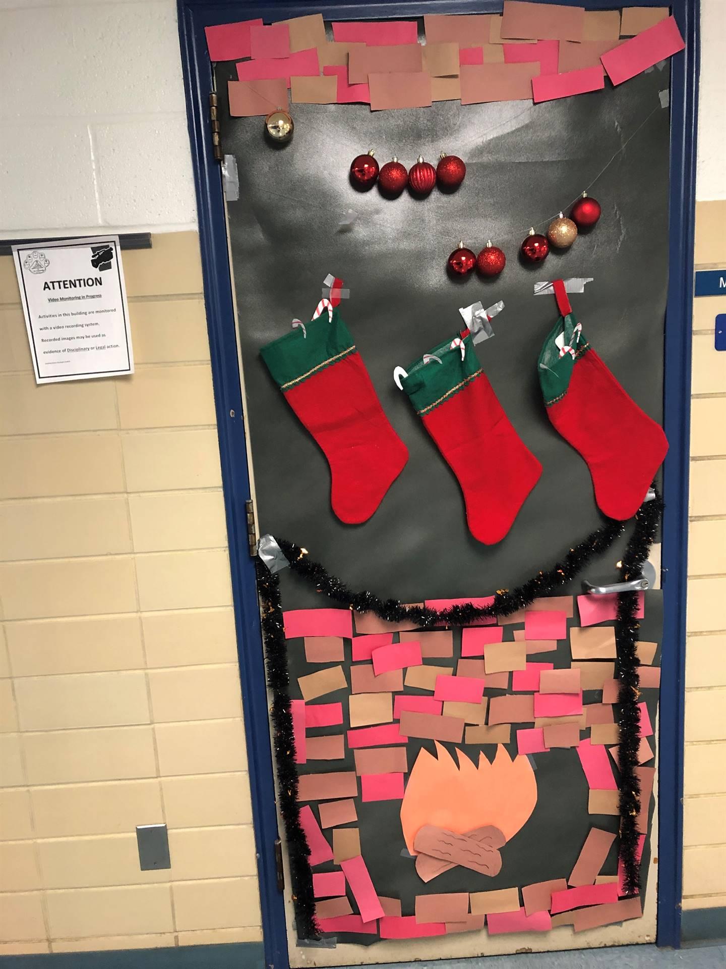Mrs. Mitchell's door