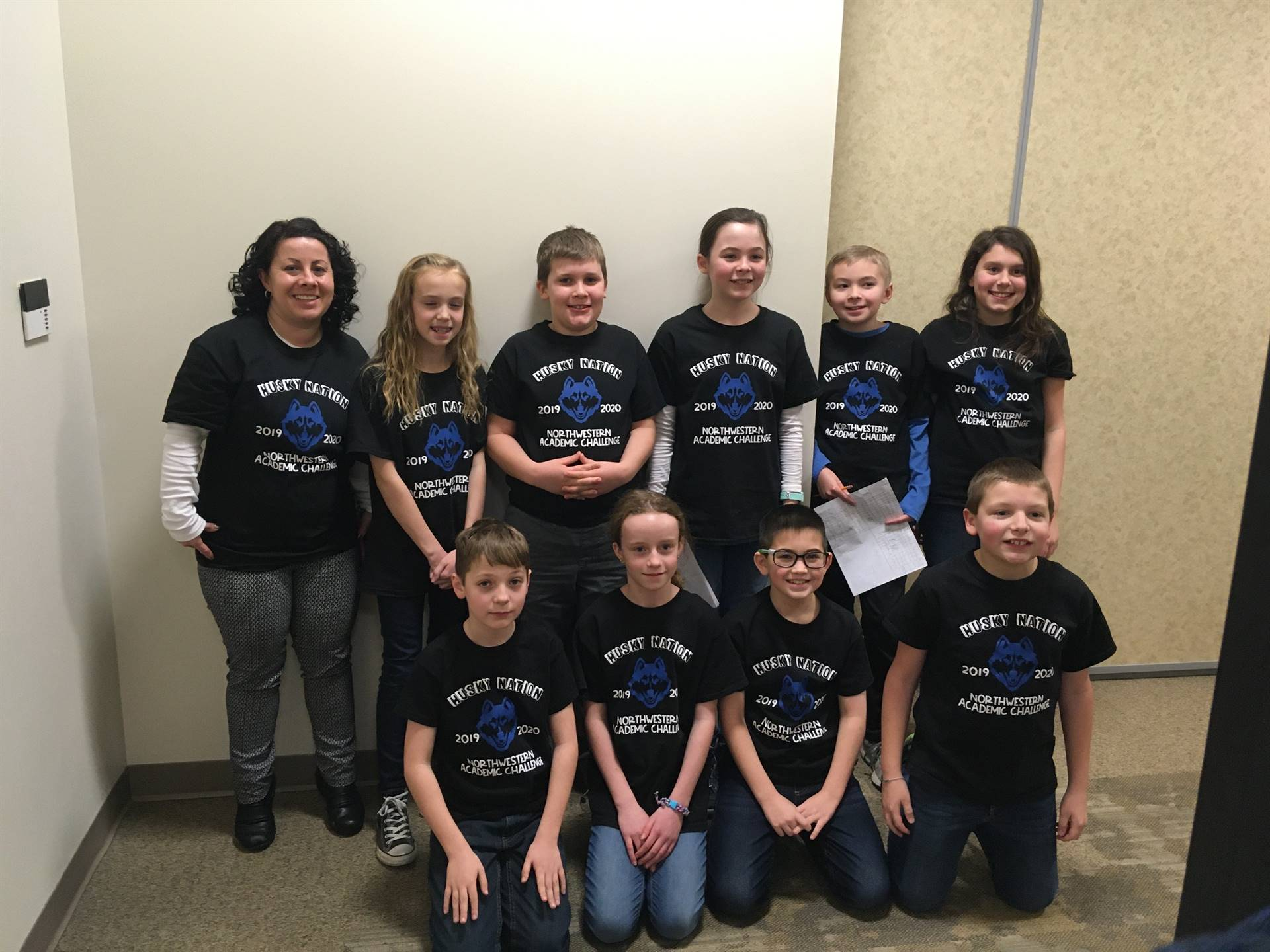 5th Grade Academic Challenge Team with Mrs. Harbaugh