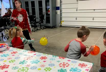 Christmas STEM with K and Pre-K
