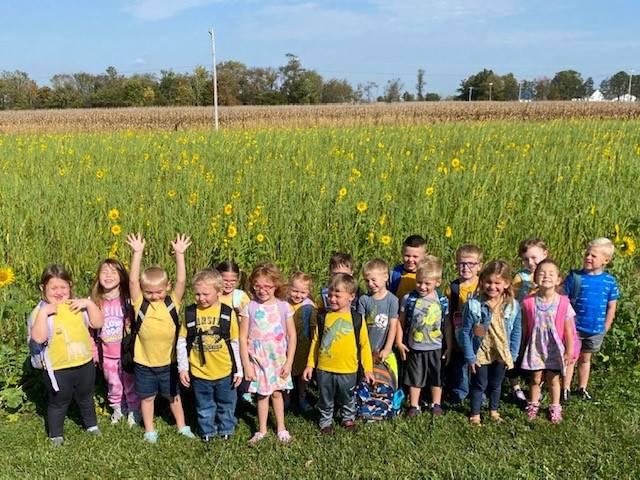 We love yellow flowers!