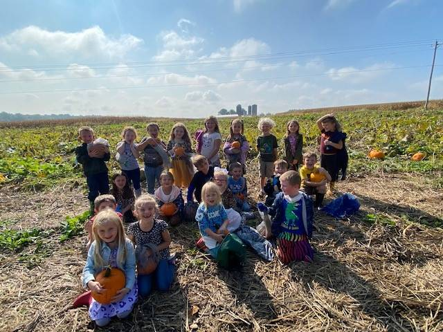 We picked out great pumpkins!