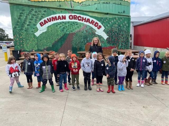 Kindergarten at Bauman Orchards!